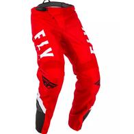 Брюки для мотокросса FLY RACING F-16 красные/черные/белые (2020) 7000