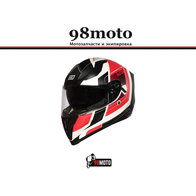 Шлем (интеграл) Origine STRADA Advanced красный/белый матовый 7800