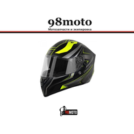 Шлем (интеграл) Origine STRADA Advanced Hi-Vis желтый/черный матовый 7800