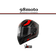 Шлем (интеграл)  Origine STRADA Graviter черный/красный глянцевый 7800