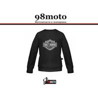 Толстовка Harley Davidson черный, S 2000