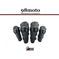 Наколенники и налокотники комплект K02E02 Vemar черные 3000