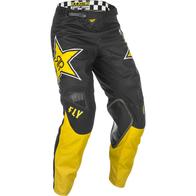 Брюки для мотокросса FLY RACING KINETIC ROCKSTAR желтые/черные (2021) 11000