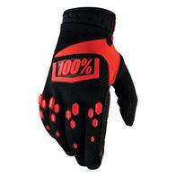 Перчатки 100% черно-красные 1200