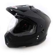 Шлем (кроссовый) Ataki MX801 Solid черный матовый 3800