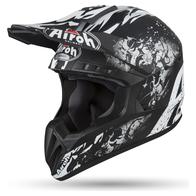 AIROH шлем кросс SWITCH BACKBONE MATT 8800