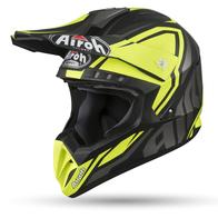 AIROH шлем кросс SWITCH IMPACT YELLOW MATT 8800