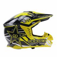 Шлем Rock Star, кросс, желто-черный XXL 5000