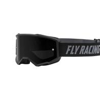 Очки для мотокросса FLY RACING ZONE (2021) чёрные, тонированные 3300