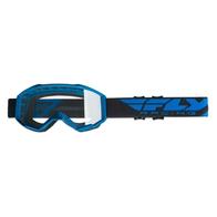 Очки для мотокросса FLY RACING FOCUS (2019) синие, прозрачные 2200