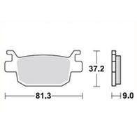 Арт 0019. Задние тормозные колодки Honda SH, FES. 1000