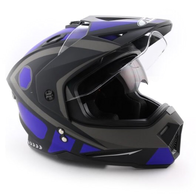 Шлем мотард Ataki FF802 Strike, синий/черный матовый 4500