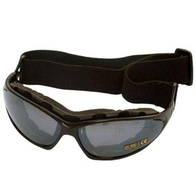 Очки 601-В стекло серое резинка + дужки 800