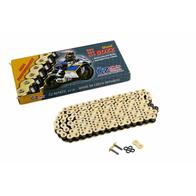 Цепь привода CZ Chains 525 SDZZ Gold - 120 (Active-Ring, усиленная) 8500