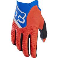 Перчатки F03 KIDS (M) оранжево-синие 1400