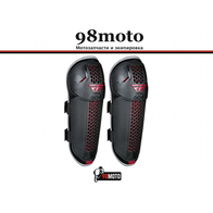 Защита колена FLY RACING BARRICADE черная/красная 2500