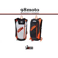 Рюкзак KTM, с гидратором (черный) 3000