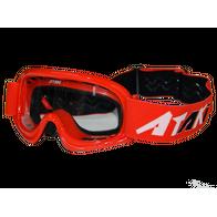 Очки для мотокросса детские ATAKI HB-115 красные глянцевые 1000