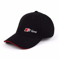 Кепка Audi style, черная, S-line 1000