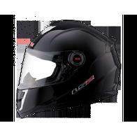 Шлем LS2 FF387, интеграл черный глянцевый, L 5000