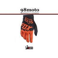 Перчатки FOX F02 оранжевые 1200