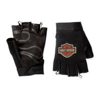 Мотоперчатки Harley Davidson без пальцев тканевые, M 1800