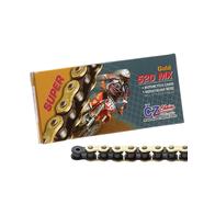 Цепь привода CZ Chains 520 MX Gold - 120 4500