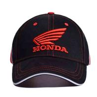 Кепка Honda, черная, красные буквы 1000