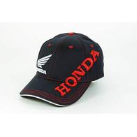 Кепка Honda, черная, красные и белые буквы 1000