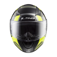 Мотошлем LS2 FF353 RAPID CARRERA  (черно-желтый) 6000