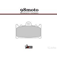 Арт 0048. Передние тормозные колодки Daytona, ZXR, ZZR, GPZ, GSXR, TL1000S(Trofeo 214, LMP231, FDB574) 0