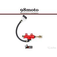 Задний тормозной цилиндр (красный) плоский бачок 1800