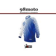 Футболка для мотокросса (Джерси) T200 синяя (XL) Scoyco 2500