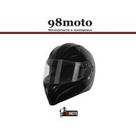 Шлем (интеграл) Origine STRADA Solid черный глянцевый XL 7500