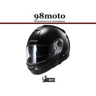 Шлем LS2 FF325 STROBE SNOW Solid снегоходный (черный матовый) 13000