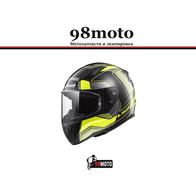 Шлем LS2 FF353 RAPID CARRERA  (черно-желтый) 6500