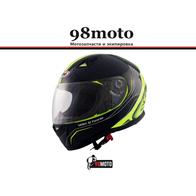 Шлем SHIRO SH881 Furacao Blk/Yell 5800