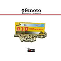 525-120L Мотоцепь Did Professional О-ring 4500