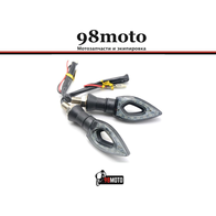 Диодные поворотники, M10, 2 провода, ромб 800