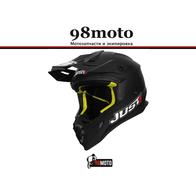 Шлем (кроссовый) JUST1 J38 SOLID черный матовый 8000