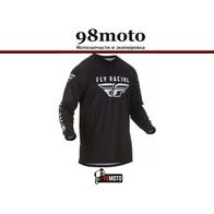 Джерси для мотокросса FLY RACING UNIVERSAL черная (2019) 2500