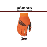 Перчатки FLY RACING LITE серые/оранжевые/черные (2021) 1800