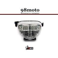 Габарит с подсветкой номера Suzuki GSXR 400/750 1000