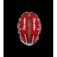 Накладки на супорта Brembo, красный, размер 19 см, small. 700