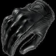 Мотоперчатки icon stealth (Кожаные) 2500