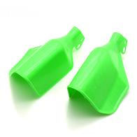 Yamaha ybr 125, Зеленая защита для рук пластиковая 700