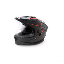 Шлем мотард Ataki FF802 Strike, оранжевый/черный матовый 4500