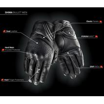 Перчатки SHIMA BULLET MEN 3900