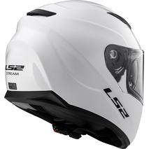 Мотошлем LS2 FF320 STREAM EVO HYPE (черно-бело-серый) 8500