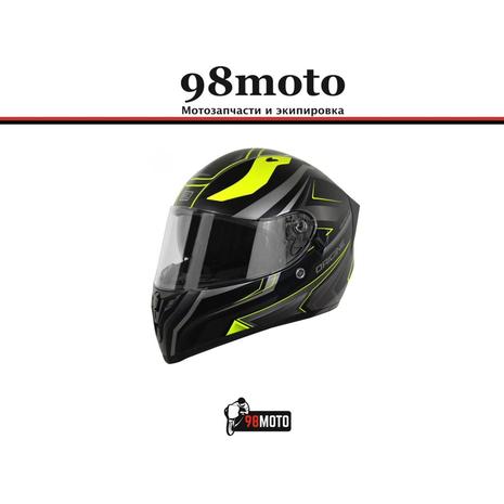 Шлем (интеграл) Origine STRADA Advanced Hi-Vis желтый/черный матовый 7900